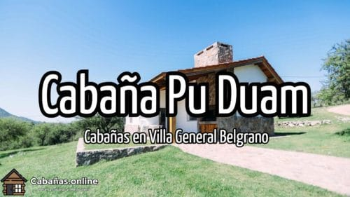 Cabaña Pu Duam