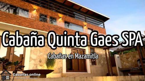 Cabaña Quinta Gaes SPA