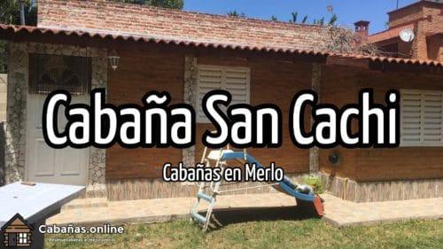 Cabaña San Cachi