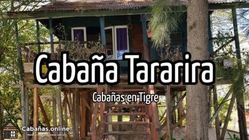 Cabaña Tararira