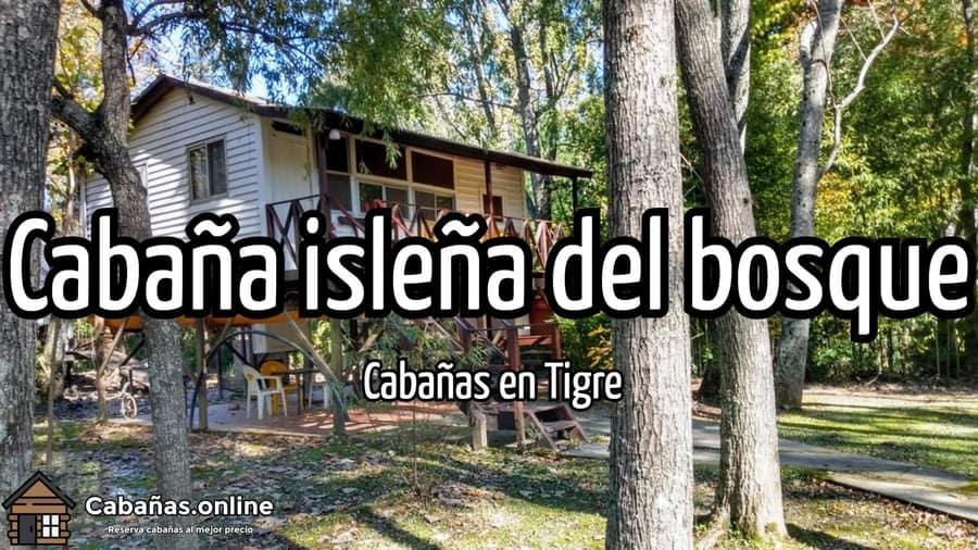 Cabana islena del bosque