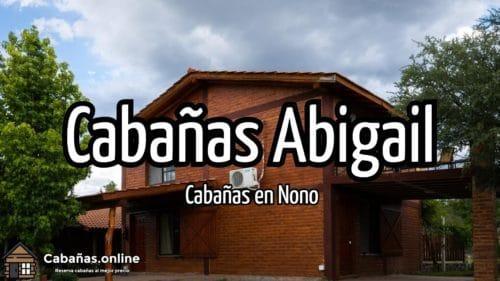 Cabañas Abigail