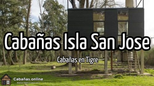 Cabañas Isla San Jose