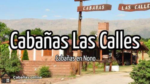 Cabañas Las Calles