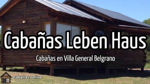 Cabañas Leben Haus