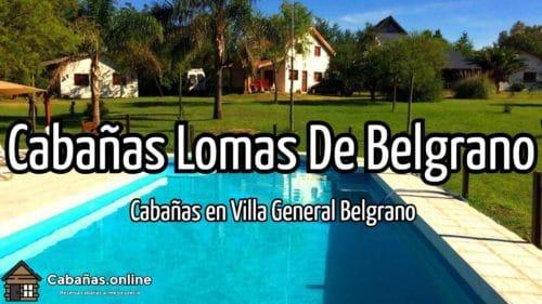 Cabañas Lomas De Belgrano