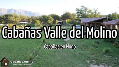 Cabañas Valle del Molino