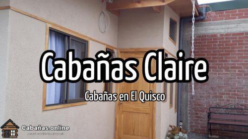 Cabañas Claire