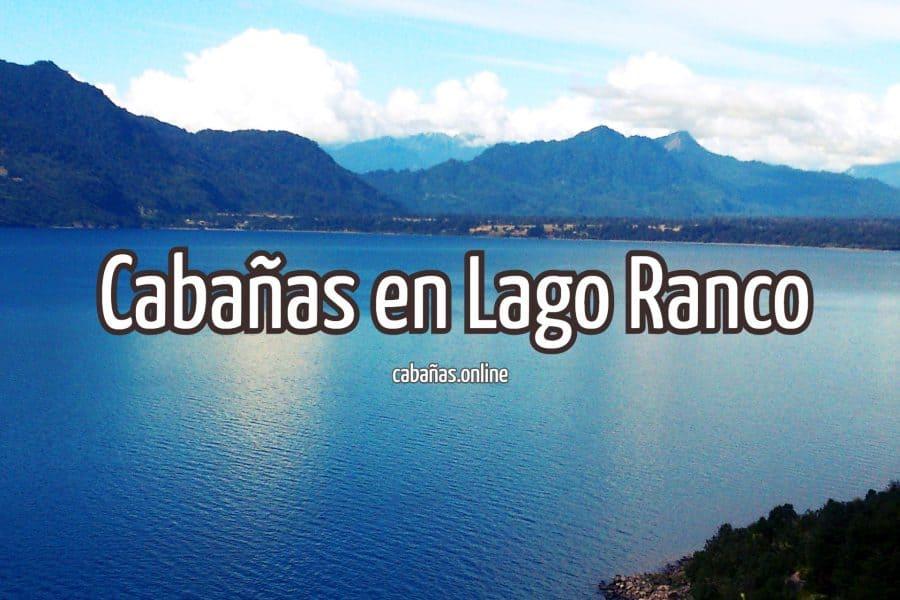 cabanas en lago ranco